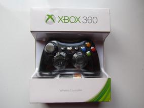 Controle Xbox 360 Original Wireless Sem Fio Microsoft Caixa