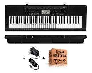 Teclado Organo Casio Ctk3500 Sensitivo De 5 Octavas 61 Teclas Polifonia De 48 Voces Con Dance Music Usb Midi En Cuotas