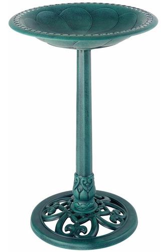 Pedestal De Jardin Tipo Bebedero De Aves Gardman Fuente