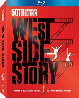 West Side Story: 50th Anniversary Edition Box Set Blu-ray