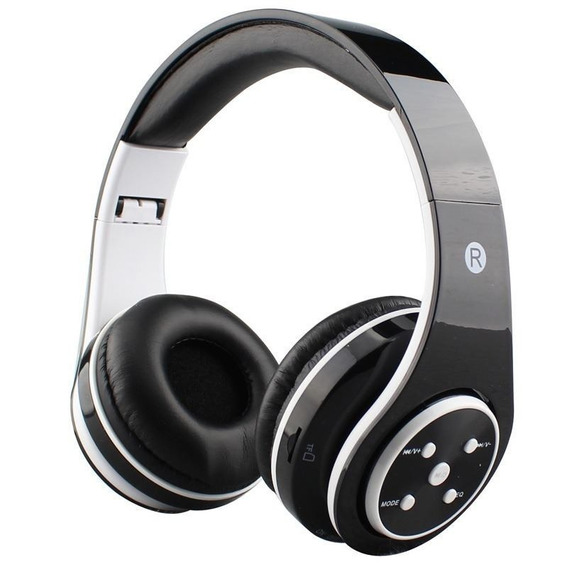 6 Fone De Ouvido Headphone Sem Fio Bluetooth Sd Fm N-st7