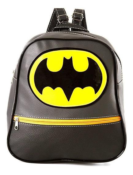 Mochila Infantil Batman De Costas Pequena Escolar