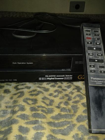 Video Cassete,panasonicg21 +dvd Philips.leiam A Descriçao