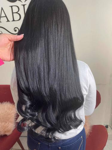 Mega Hair Cabelo Brasileiro + Aplicação