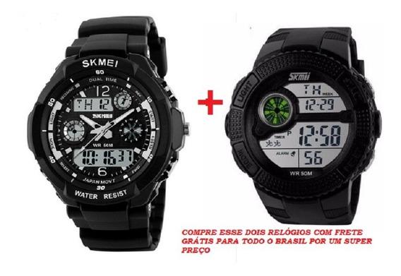 Relógio Masculino Skmei Militar Esportivo Barato Frete Grati