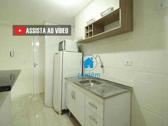 Ap1708 - Apartamento Com 1 Dormitório Para Alugar, 28 M² Por R$ 1.300/mês - Km 18 - Osasco/sp - Ap1708