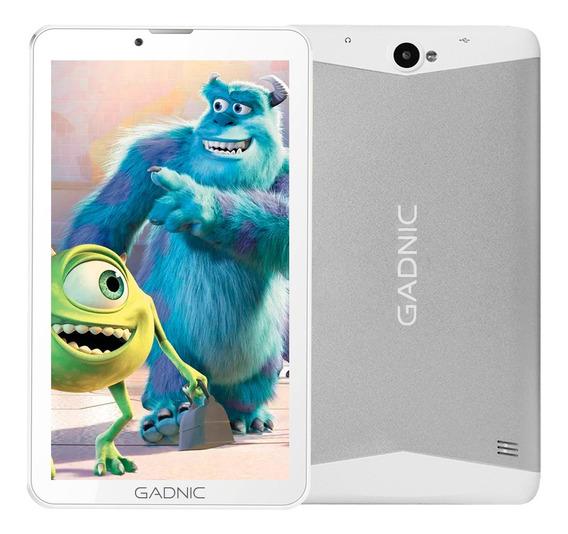 Tablet Kids Gadnic Chip Celular Dual Sim 3g Niños + Funda Gratis
