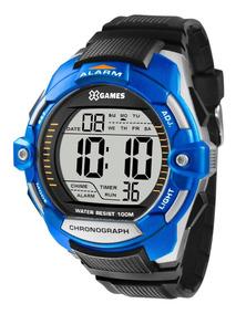 Relógio X-games Masculino Digital Xmppd433 Bxpx Azul