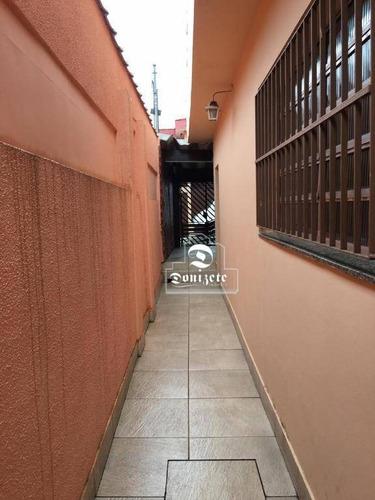 Casa Com 2 Dormitórios À Venda, 141 M² Por R$ 400.000,00 - Vila Luzita - Santo André/sp - Ca1202