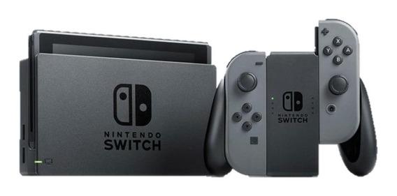 Nintendo Switch 32GB Standard cinza e preto