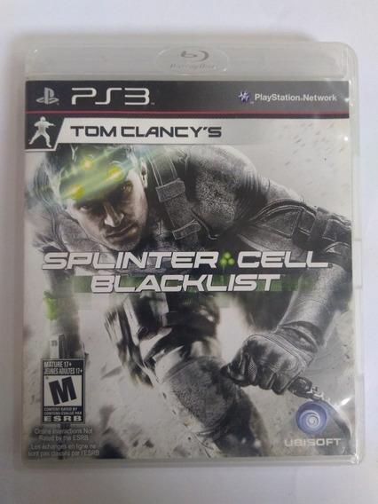 Jogo Splinter Cell Blacklist Tom Clancy