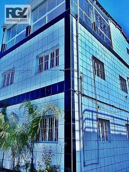 Galpão Para Alugar, 800 M² Por R$ 13.000,00/mês - Macuco - Santos/sp - Ga0085