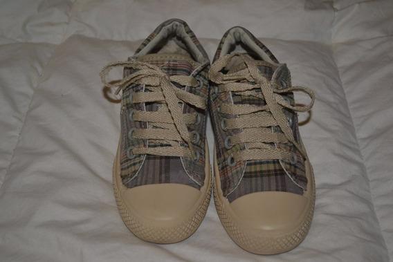 Zapatillas Kickers Lona - Talle 28 - Niño - Niña