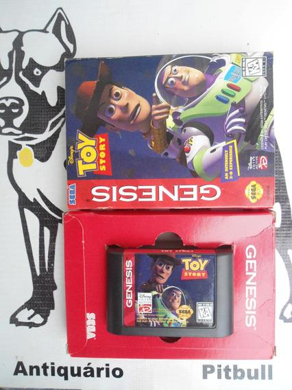 Toy Story Mega Drive Genesis Na Caixa Original