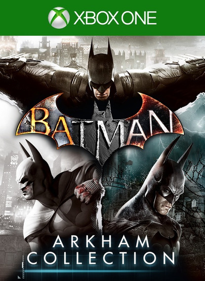Batman Arkham Collection + Dlcs Xbox One Digital + Brinde