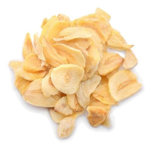 Imagem 1 de 2 de Alho Frito Laminado Fatiado 500g - Qualidade Premium