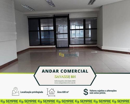 Imagem 1 de 25 de Andar Corporativo Para Alugar, 600 M² - Savassi - Belo Horizonte/mg - Ac0024