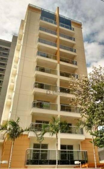 Apartamento Com 1 Dormitório À Venda, 51 M² Por R$ 430.000,00 - Cambuí - Campinas/sp - Ap18538