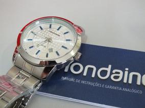 Relógio Mondaine Masculino Aço Inox