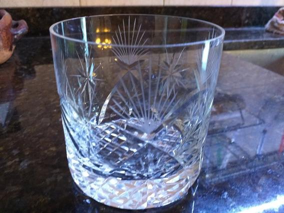 Vasos De Whisky Tallados Cristal