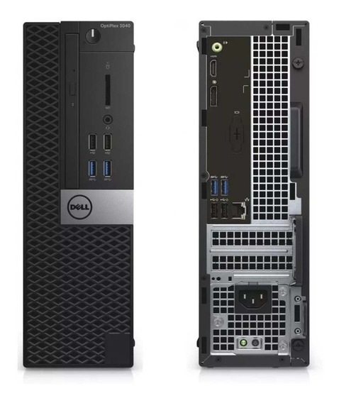 Deskslim Dell Core I5 6ªg 4gb 500gb Hd Optiplex 3040