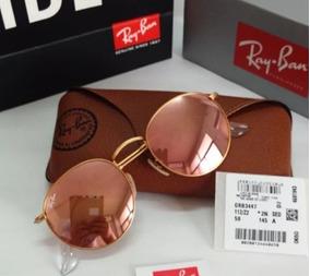 29b2d16ab2 Oculos Ray Ban Rose Redondo - Óculos no Mercado Livre Brasil