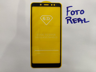 Película 6d Para Smartphone Xiaomi Redmi Note 5 Pro Preto