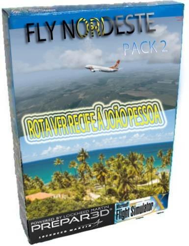 Fly Nordeste Pack 2 João Pessoa Á Recife E Rota Vfr Completa