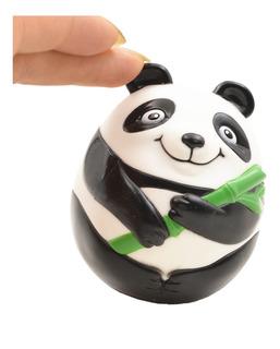 Panda Modelado Roly-poly, Muñeca Bebé Juguetes Vaso, Estil