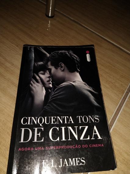 Livro 50 Tons De Cinza (capa Filme)