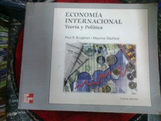 Economìa Internacional- Teorìa Y Polìtica- Krugman- 4º Ed.