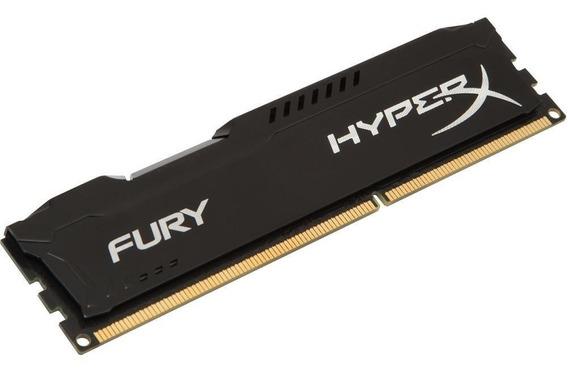 Memória Ddr3 Hyperx Fury Black 8gb 1866mhz