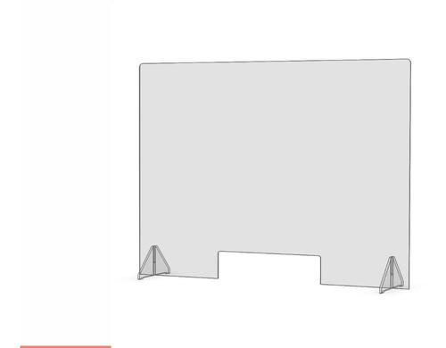 Imagen 1 de 5 de Barrera En Acrilico Sanitaria 120x60cm
