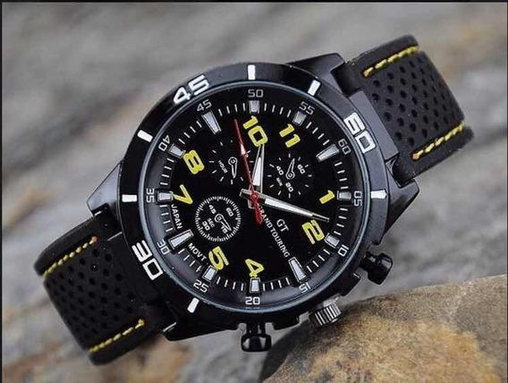 Relógio Confortável Masculino Grand Touring F1 Barato