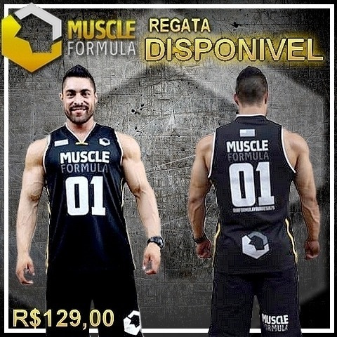 Regata Basqueteira Muscle Formula Original