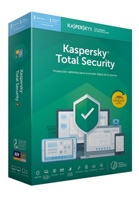 Kaspersky Total Security 1 Pc 1 Año 2019
