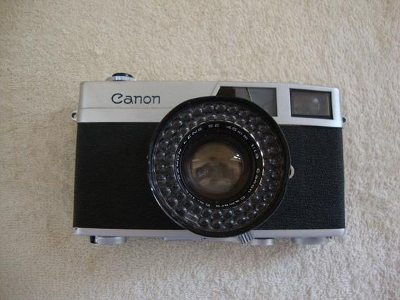 Máquina Fotográfica Antiga Canon Canonet (japan) .