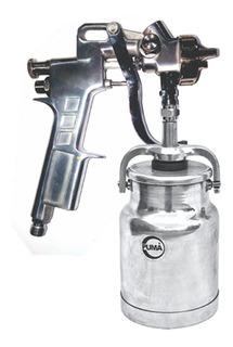 Pistola De Sucção 1,5mm Baixa Pressão As162ab 20 Puma