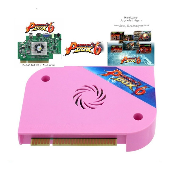 Pandora Box 6 !1300 Jogos!pronta Entrega!original!