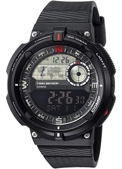 Reloj Casio Sgw-600h-1b Compass/thermometer