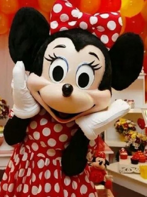 Personagem Vivo - Minnie (200,00)