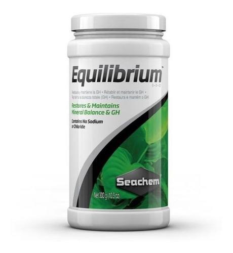 Minerales Para Plantas De Acuario  Equilibrium 300gr Seachem