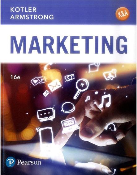 Marketing - 16/ed - Kotler