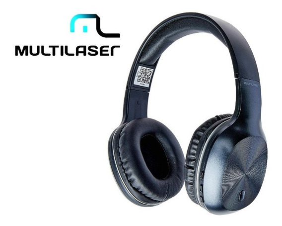 Fone De Ouvido Bluetooth Sem Fio Rádio Fm Cartão Sd Luxuoso
