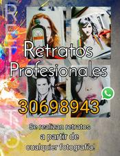 Retratos Y Dibujos Profesionales Guatemala