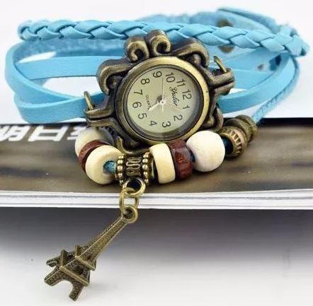 Relojes Para Dama Vintage Retro De Moda Piel