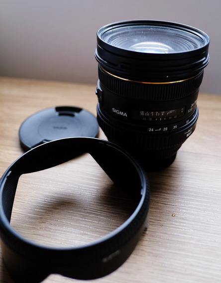 Lente Sigma 24-70mm 2.8 Para Canon