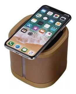 Parlante Portátil Bluetooth Cargador Inductivo De Celulares