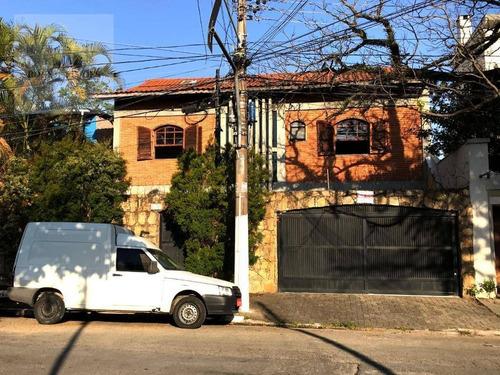 Sobrado Residencial À Venda No Planalto Paulista, 5 Dormitórios, 2 Suítes, 2 Salas Amplas, 4 Banheiros, 5 Vagas De Garagem, 254 M², São Paulo. - So0310