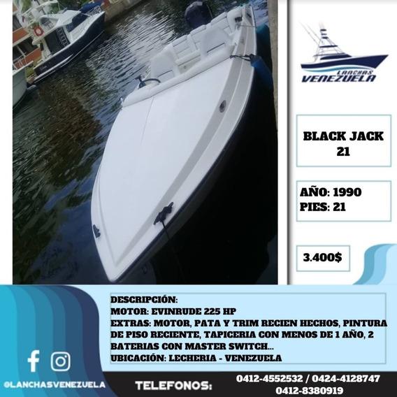 Lancha Black Jack 21 Lv571